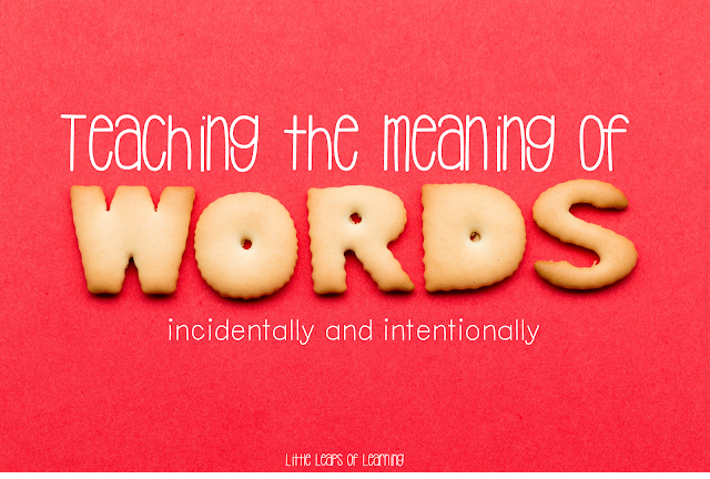 Let's talk about... teaching vocabulary