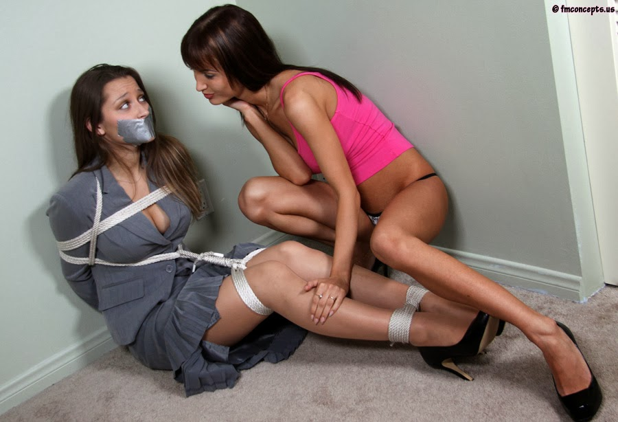 Chloroformed girls tied up and fucked