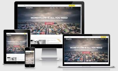 Money Flow Theme Wordpress Blogspot Terbaik CTR Tinggi untuk AdSense