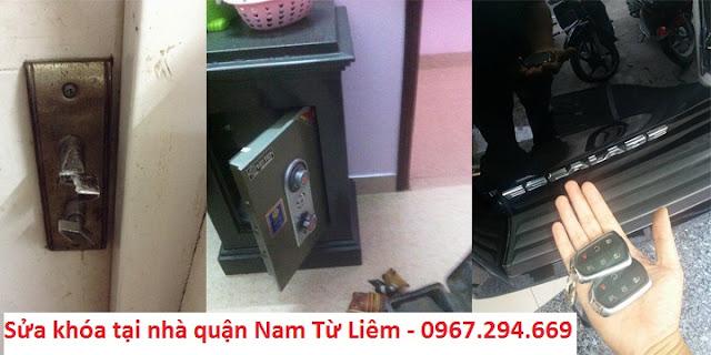 Thợ sửa khóa làm chìa khóa tại nhà quận Nam Từ Liêm Hà Nội