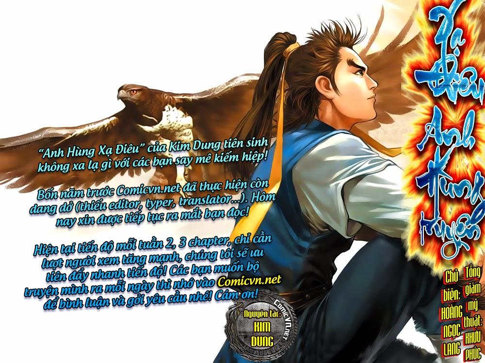 Anh Hùng Xạ Điêu anh hùng xạ đêu chap 53: lâm nguy thụ mệnh đả cẩu học pháp trang 1