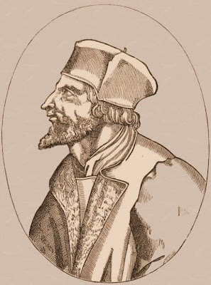 Jean Huss, chefe dos hereges hussitas