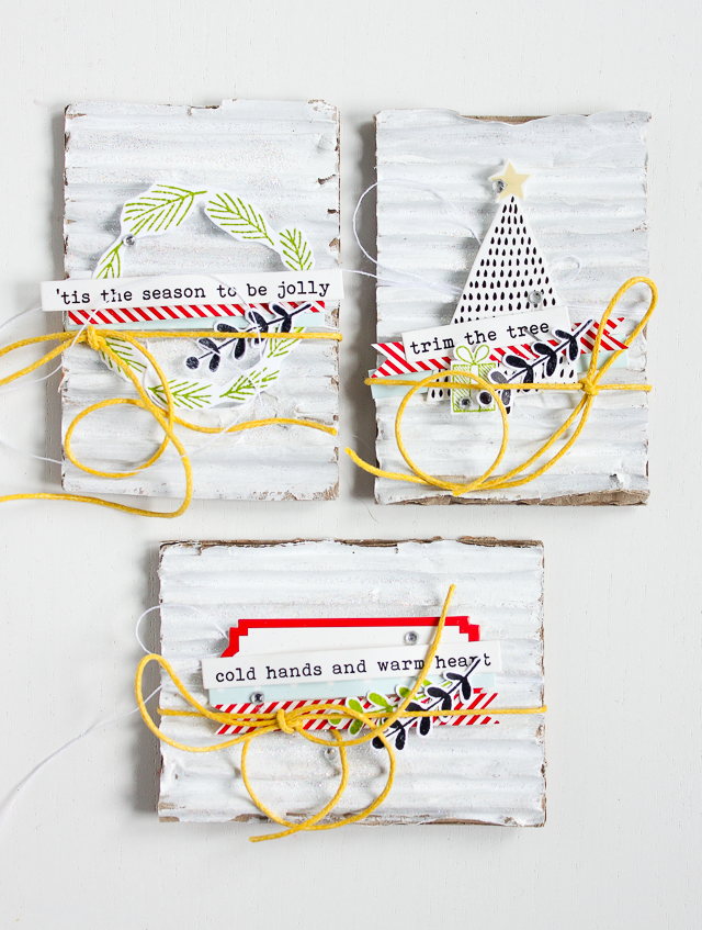 Artist Trading Cards + Christmas Topper | Janna Werner