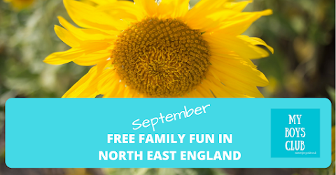 Free Family Fun in the North East this September