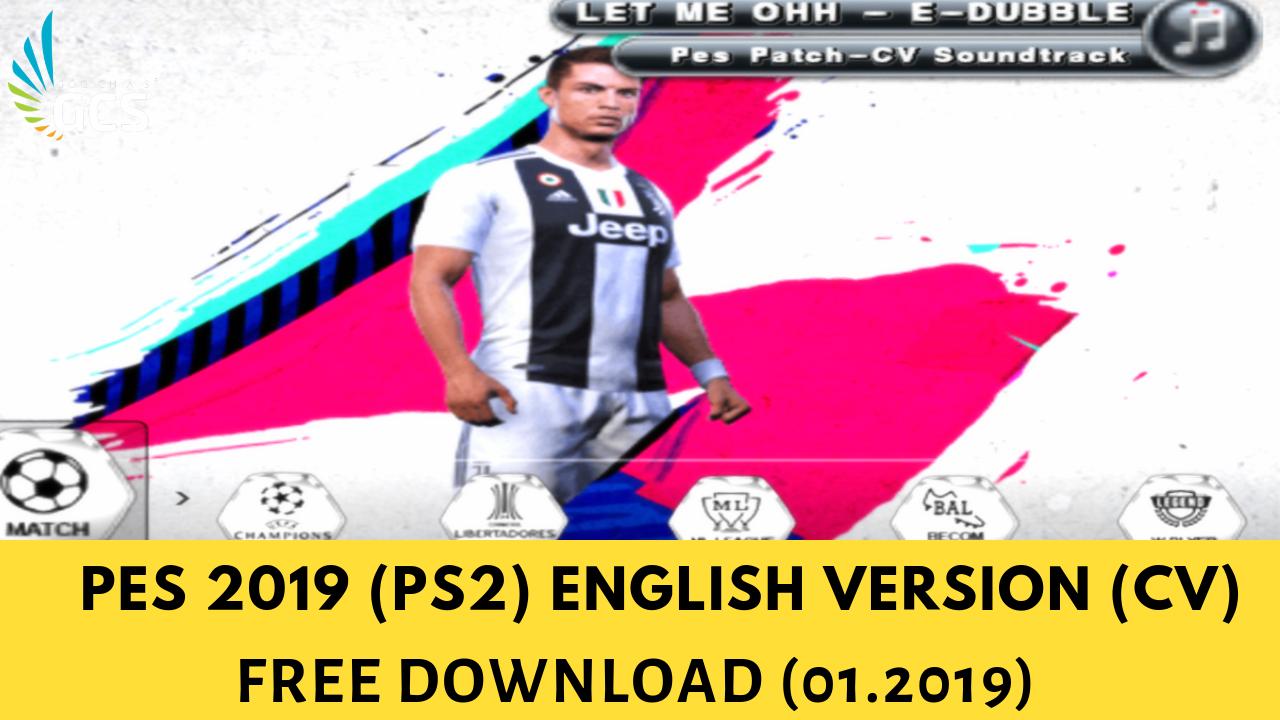 THỂ THAO - Pro Evolution Soccer 2019 (PS2) English Version (CV