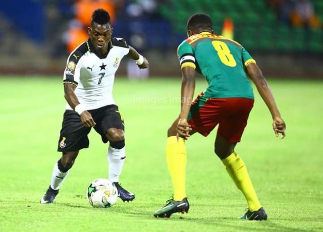 Christian Atsu heartbroken after losing semi-final to Cameroon