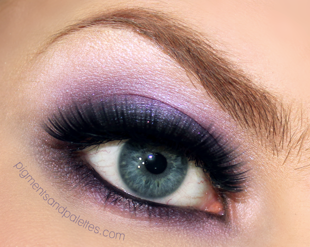 Purple Smokey Eyes For Prom: Video Tutorial | Meredith ...