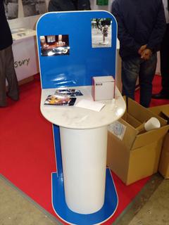 「エコプロダクツ2012」で使用した展示台