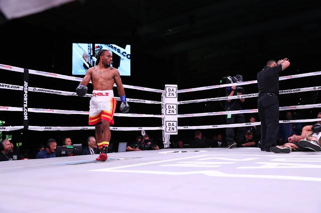 Jeremy Nichols def. Jeremiah Page via first-roun KO.