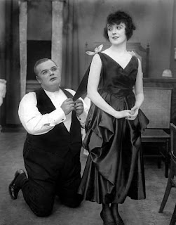 Fatty Arbuckle and Mabel Normand