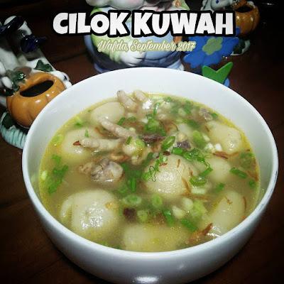 Resep Cilok Kuah By @dapurwafda