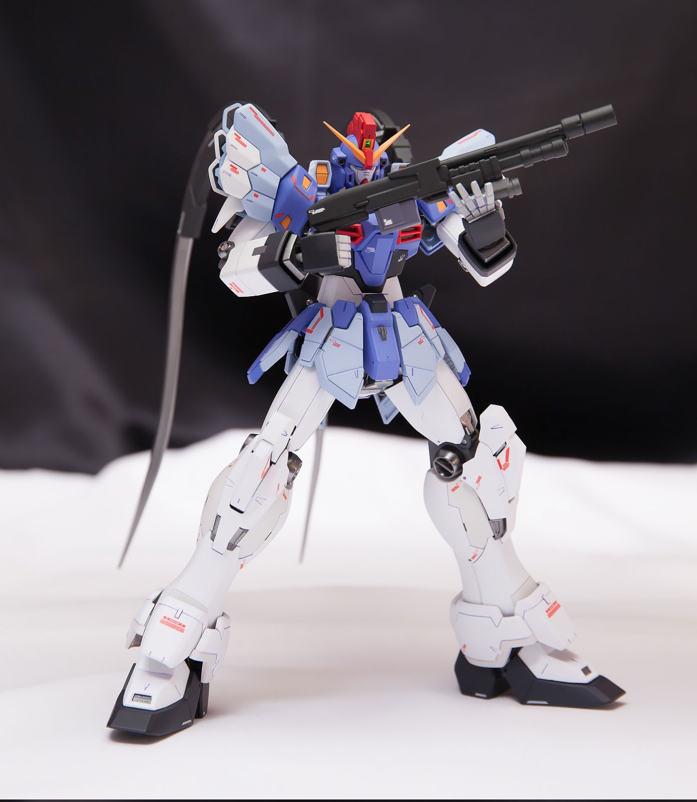 Custom Build: MG 1/100 Gundam Sandrock Custom EW ver. + Anti-Beam Cloak