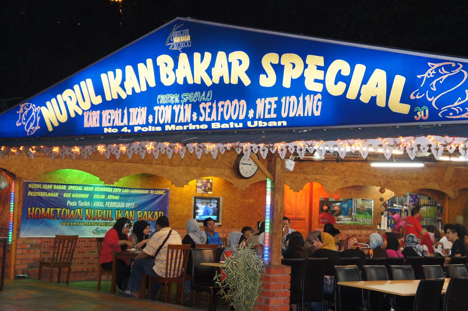 Jari Enam: Trip To Pulau Pinang (Part1- Nurul Ikan Bakar Special)