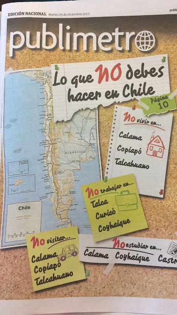 Colegio de Periodistas cuestiona portada de Publimetro por falta de contexto que estigmatiza ciudades de regiones