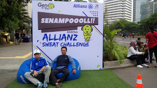 Allianz : Program Sweat Challenge dan Asuransi Sekoci