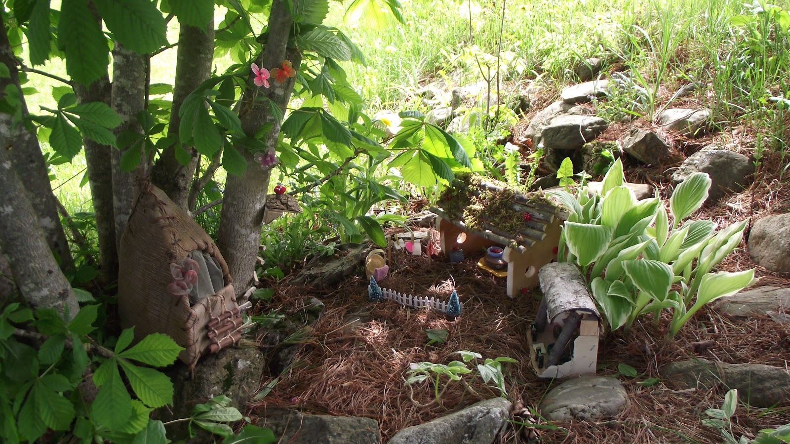 The Patterson Home The Gnome Village  A Giveaway