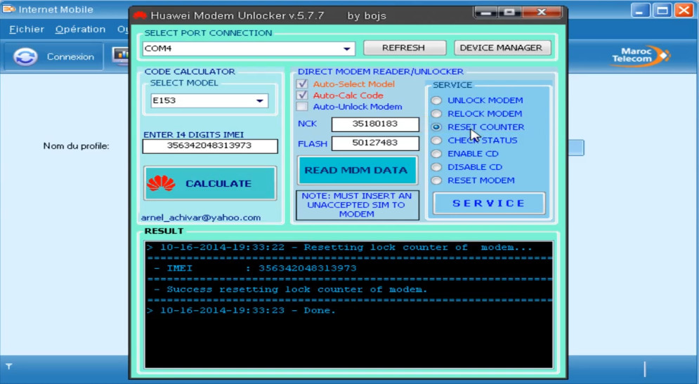 Advanced Huawei Modem Unlocker Software 2019 Ver 6 12 Decoded