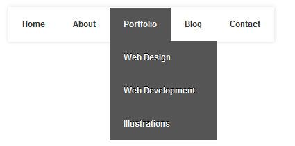 Tạo Menu DropDown đơn giản bằng CSS