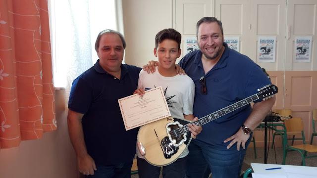 """Σάρωσαν τα βραβεία οι μαθητές του Θ. Γεωργόπουλου στον μουσικό διαγωνισμό του φεστιβάλ """"Μ.Χιώτης"""" στο Ναύπλιο"""
