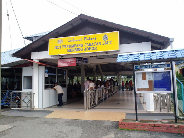 Mersing Jetty Interconnection To Tioman Island