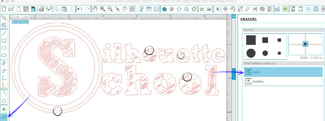 Silhouette Cameo, cookie stencil, DIY, do it yourself, Silhouette Studio