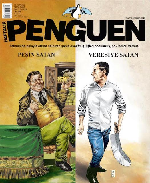 Penguen Dergisi | 11 Temmuz 2013 Kapak Karikatürü