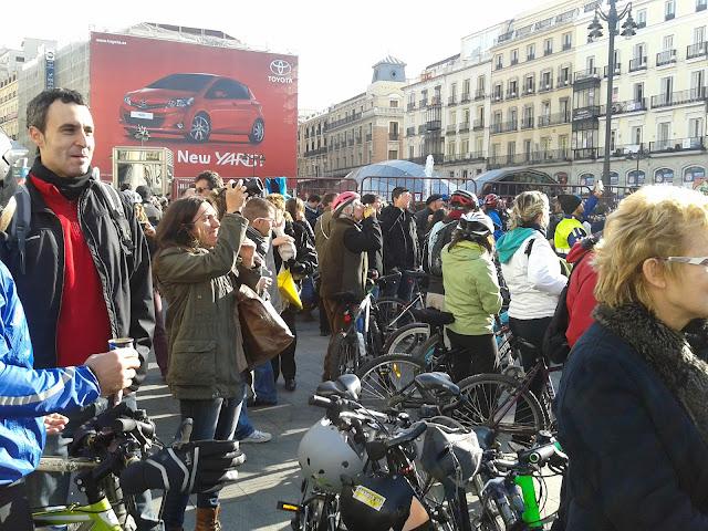 Plan de movilidad. Fiesta Fin de Año (2011/2012) en la Puerta del Sol.