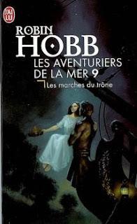 Couverture livre - critique littéraire - Les aventuriers de la mer - tome 9 - Les marches du trône