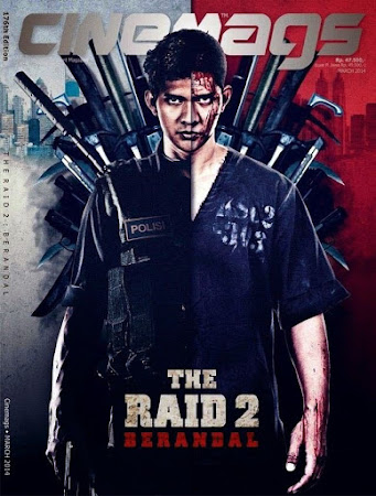 Poster Of The Raid 2 In Dual Audio Hindi English 300MB Compressed Small Size Pc Movie Free Download Only At worldfree4u.com