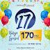 Promo Ulang Tahun Yang Ke 17 Dapur Cokelat Semua Cake 170Ribu 28 Mei 2018