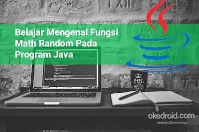 Belajar Mengenal Fungsi dan Kegunaan Math Random Pada Program Java