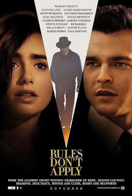 Rules Don't Apply (2016) Movie Sinopsis - Lily Collins, Alden Ehrenreich