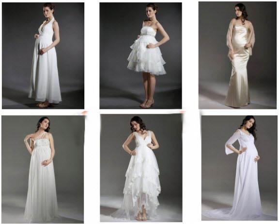 Maternity Wedding Gown: WhiteAzalea Maternity Dresses: September 2012