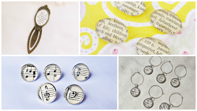 image domum vindemia literature music handmade items accessories homewares bokmark wine glass charms thumbtacks push pins magnets