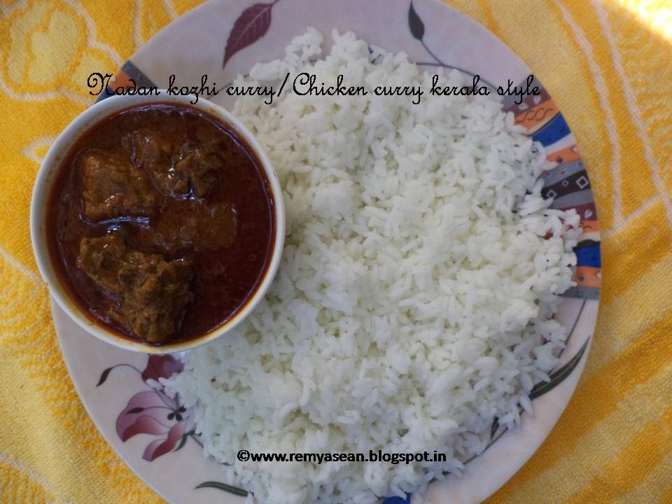 Nadan kozhi curry/Chicken curry kerala style