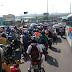 Acessos de saída da região norte congestionados pela ponte Igapó