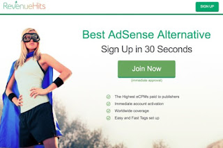 Google Adsense Alternatives, make money online, ads, ad network
