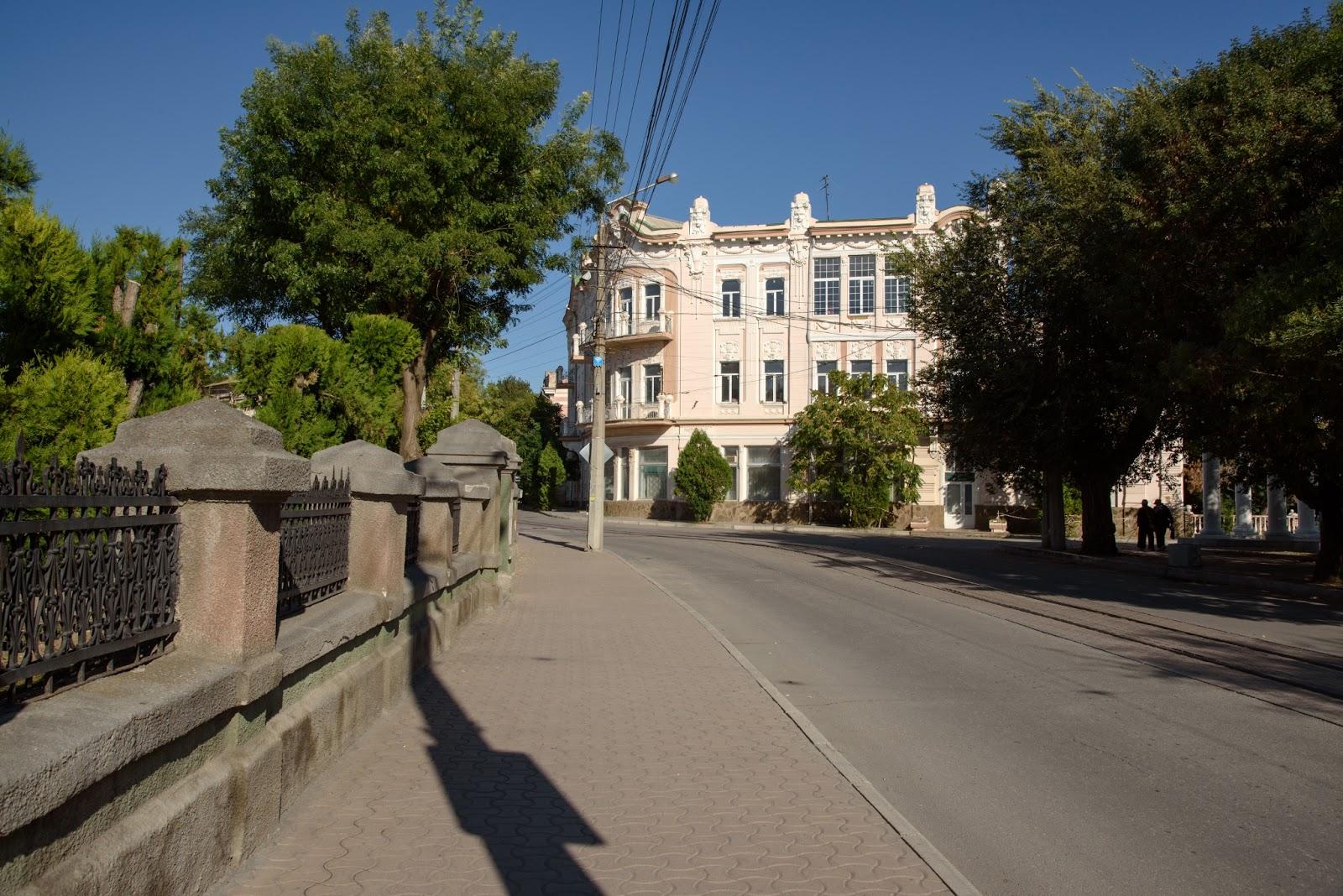 Улицы Евпатории. Крым