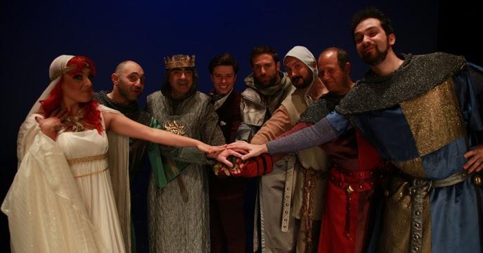 Riflettori su di silvia arosio spamalot il musical presentazione e video della conferenza - Chi erano i cavalieri della tavola rotonda ...