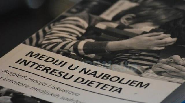 """PUBLIKACIJA """"MEDIJI U NAJBOLJEM INTERESU DJETETA"""""""