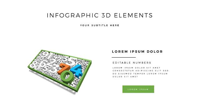 Fully Editable 3D Design Elements for PowerPoint Slide2
