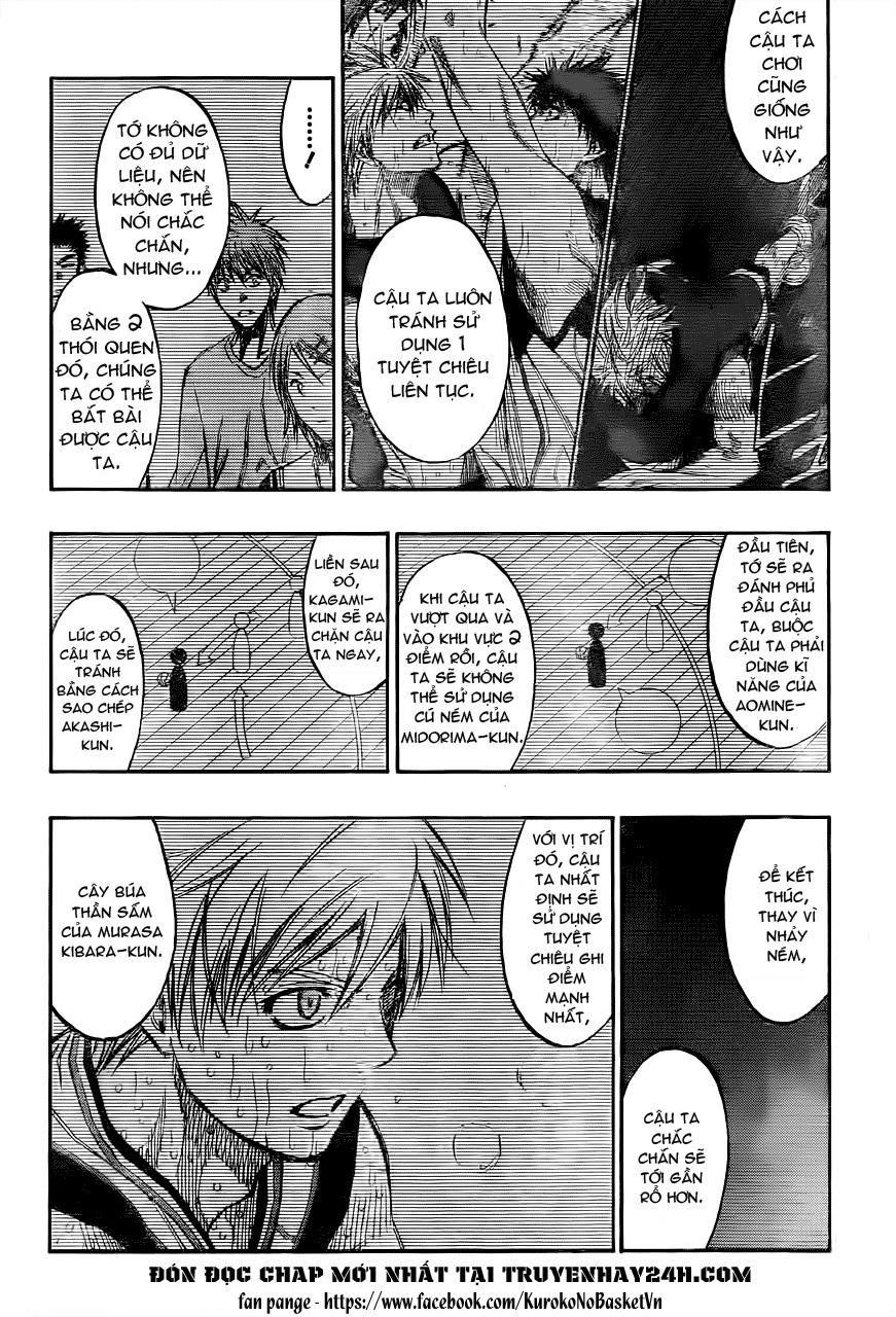 Kuroko No Basket chap 201 trang 12