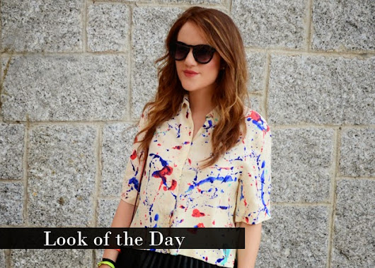 The Princess in Black: Look of the Day: Arty Style