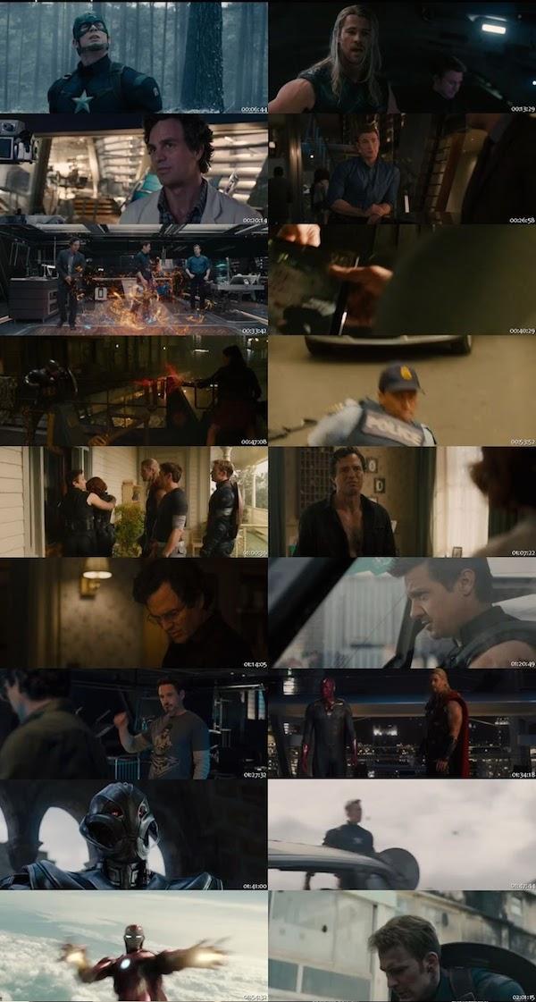 Avengers Age of Ultron 2015 HDRip 480p