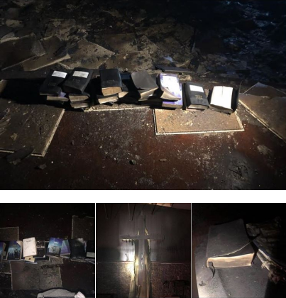 See What Was Found Inside A Church That Got Burnt