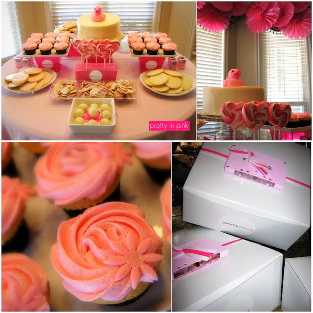 Pretty in Pink 80s Baby Shower
