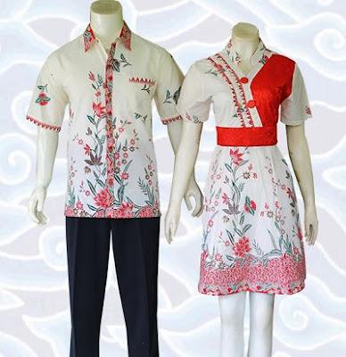 Batik Kombinasi Brokat