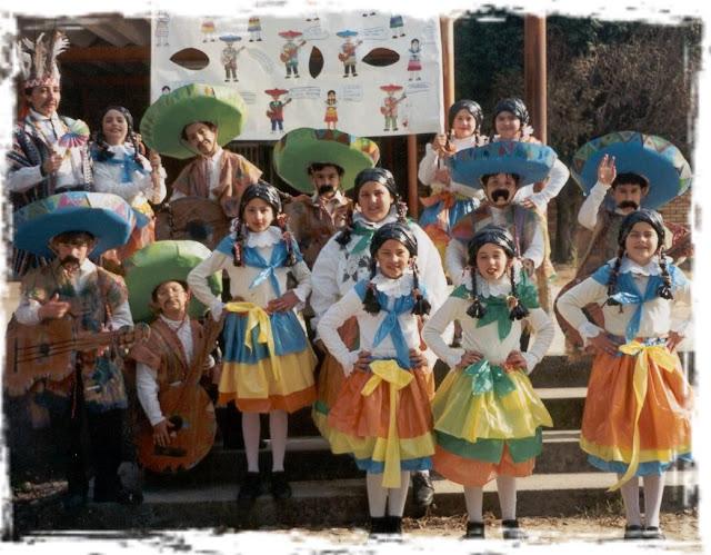 disfraces de mexicanos escolares