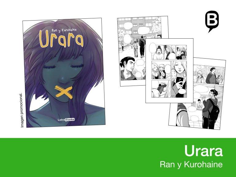 Urara - Ran y Kurohaine - Letrablanka