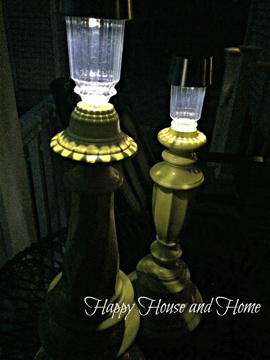 Happy House And Home Turn Solar Lights Into Garden Lamps